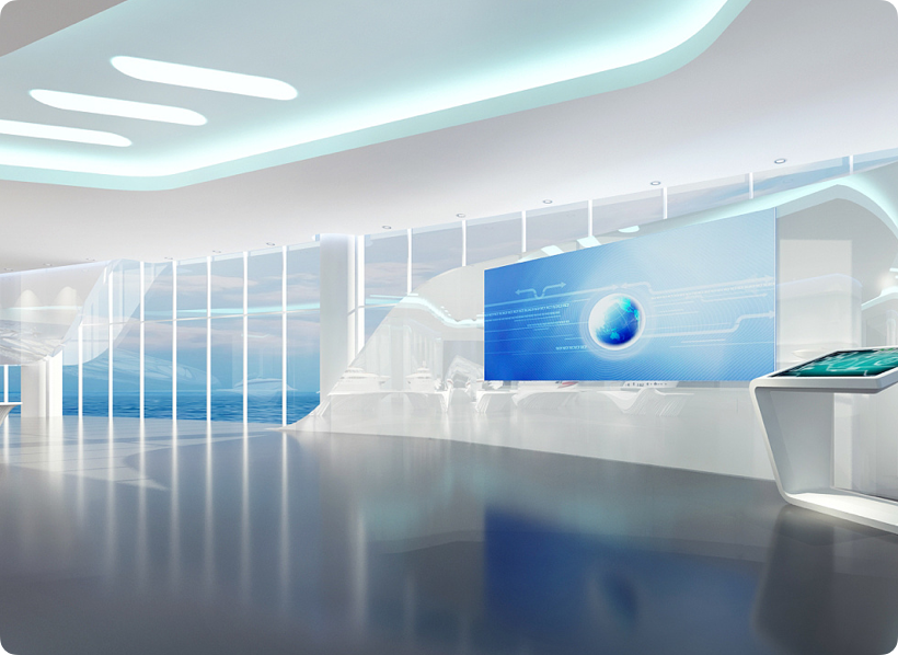 航运展厅设计